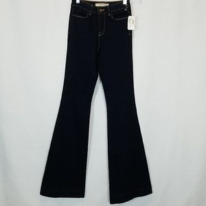 Used, J Brand | The Doll Indigo Flare High Waist Jeans for sale